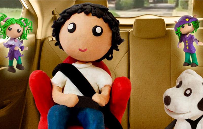 """Te proponemos un """"examen"""" sobre seguridad vial para padres e hijos. Imgen: Fundación Mapfre"""